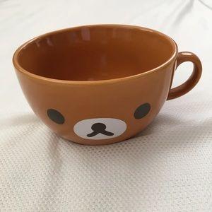 Rilakkuma Brown soup Mug Cup